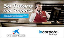 Ibidem translates the report of La Caixa's programme Incorpora from Spanish into French.