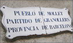 Ibidem translates into Catalan for Mollet town council