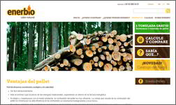 Ibidem Group works with Enerbio, a company that sells wood pellets, to translate their website into Italian